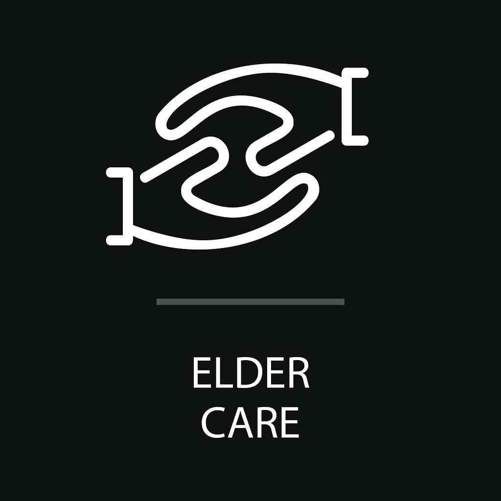 Eldercare program icon