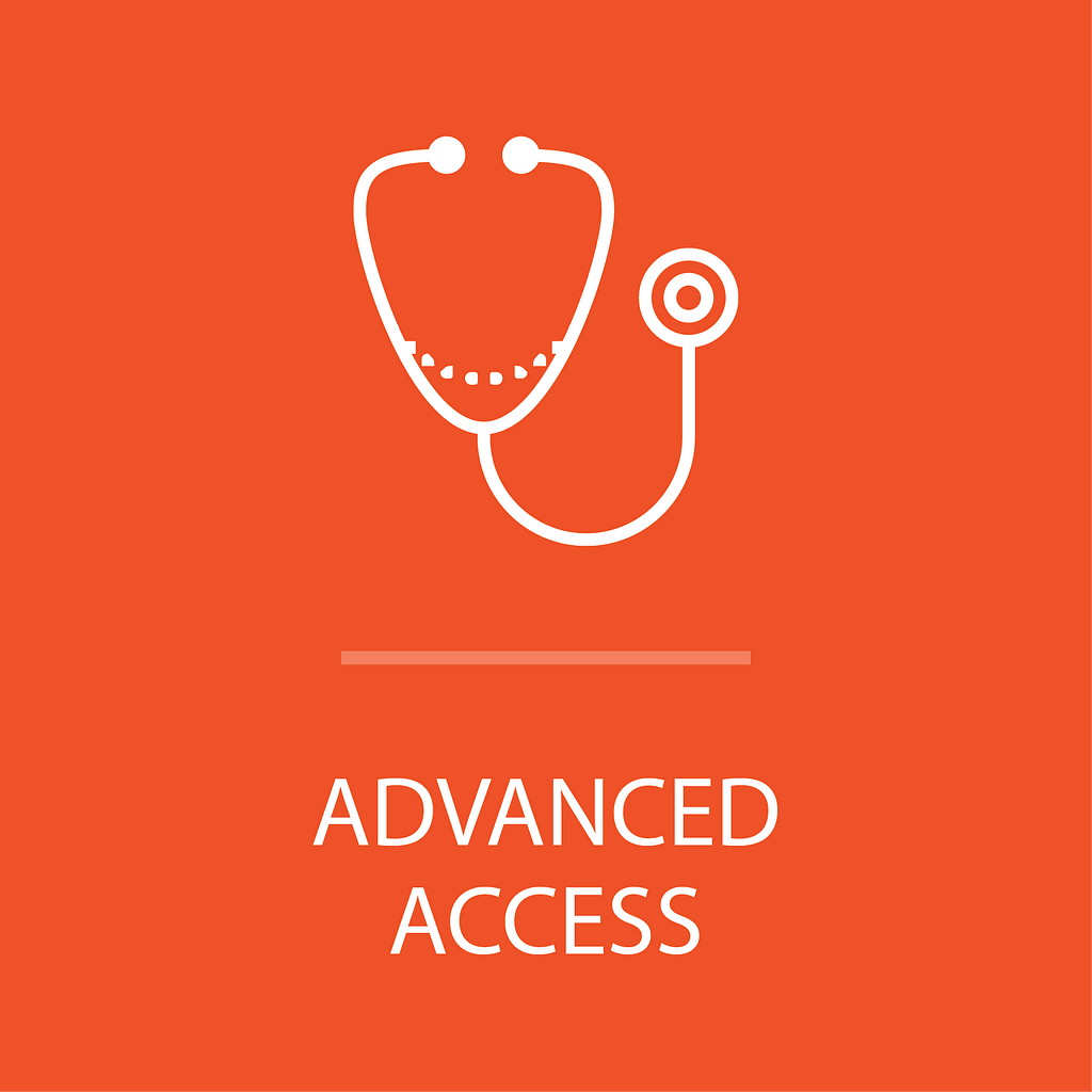 Icon for advanced access program