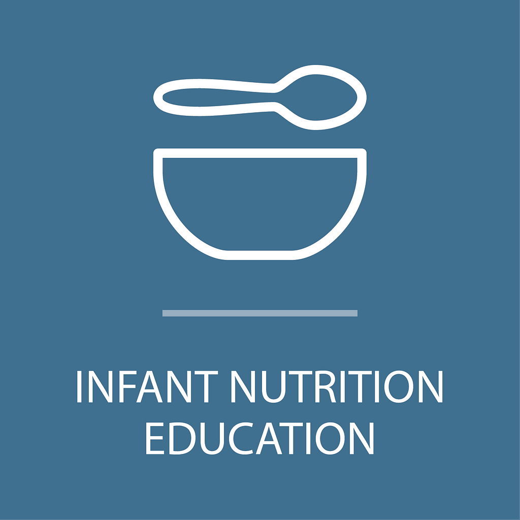 Icon for infant nutrition education program