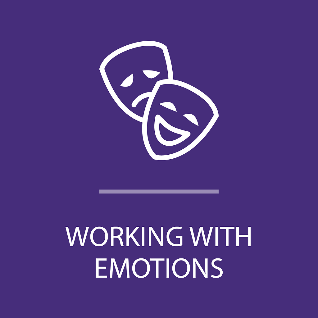 Icon for working with emotions program